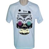 Camiseta Caveira Mexicana ,varias Estampas Escolha A Sua - 1