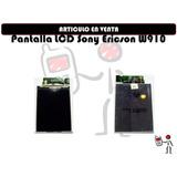 Pantalla Lcd Sony Ericson W910 Mayoristas Tienda Fisica