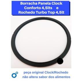 Borracha Panela Pressão Rochedo/clock 4,5 Lts Original