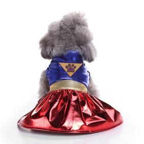 Kit Liga Da Justiça Pet Mulher Maravilha/ Super Homem