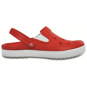 Crocs Originales Citilane Clog Rojo Mujer 884