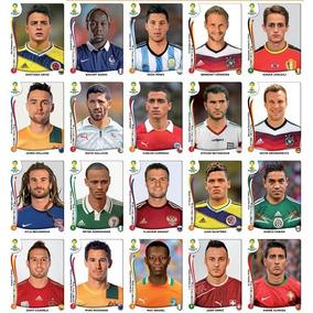 Figurinhas Copa 2014 Brasil