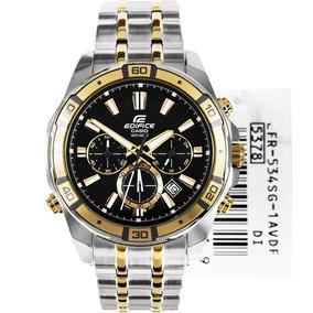 Reloj Casio Edifice Illuminator Efr- 534sg-1av - 100% Nuevo