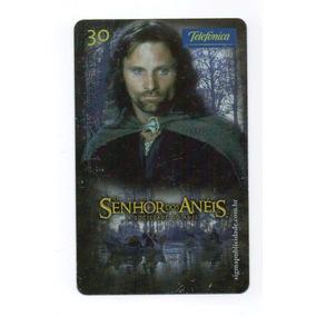 Cartão Telefônico O Senhor Dos Anéis - A Sociedade Do Anel