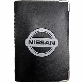 Carteira Porta Documento Carro Cnh Cartão Dinheiro Nissan