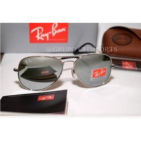 4ae156d698332 Oculos Ray Ban Rb 8013 Masculino Prata Espelhado 1 Real - Óculos De ...