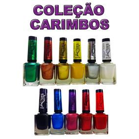Kit 11 Esmaltes Para Carimbo Coleção La Femme