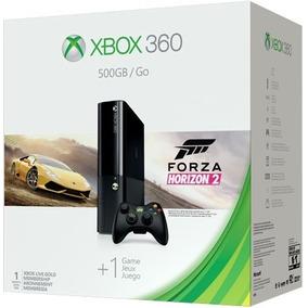 Consola Xbox 360 Slim E 500gb Con Juego Forza Horizon 2 Wifi