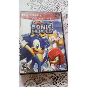 Sonic Heroes Americano Para Playstation 2