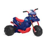 Moto Motoca Eletrica Infantil Bateria Aranha Banderante 2803