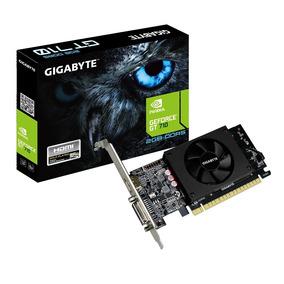 Placa De Vídeo Geforce Gt 710 Lp 2gb Ddr3 Pcie 2 Gigabyte