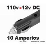 Computoys Conecte De 110v A Carro 12v , 10 A Zacc05 Qacc05q