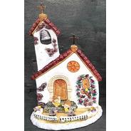 Adorno Para Torta Capilla Grande (comunion Y Bautismo)