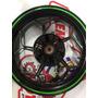 Roda Traseira Ninja300cc Z300cc Usada Original Alemão Motos