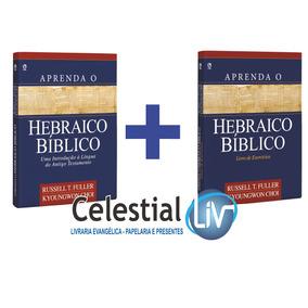 Kit Aprenda O Hebraico Bíblico Livro Texto + Exercícios
