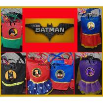 Bolsitas De Superheroes Lego,batman,superman,robin,araña Etc