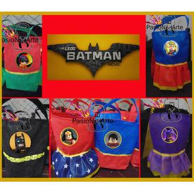 Bolsitas De Super Heroes Lego,batman,superman,robin,araña