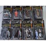 Kit Com 9 Bonecos Star Wars Figura Guerra Nas Estrelas