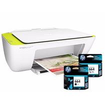 Impressora Hp 2135 Multifuncional Bivolt+cartuchos Pret/colr