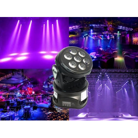 Cabezal Led Gbr Moving Power 7 Led X 12w