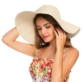 Sombrero Sol Dama Flexible Alaancha Playa Moda Primavera2018