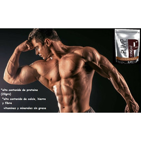Pump, Fisiculturismo, Desarrollo Muscular, 20grs De Proteína