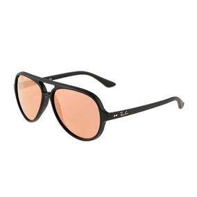 Óculos Ray Ban Rb 4125 Aviator Lentes Pink
