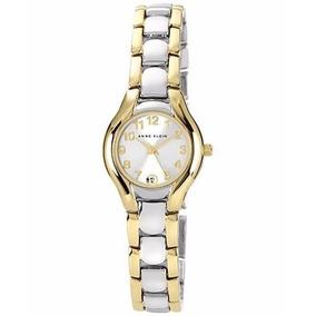 Reloj Dama Anne Klein 106777svtt 24mm Mujer Original Nuevo