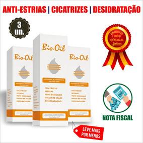 [3un] Bio Oil - 125ml (antiestrias/cicatrizes/desidratação)