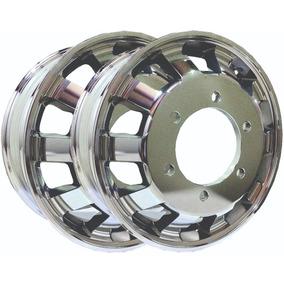 Par De Rodas De Alumínio Para Mercedes Accelo - Aro 17,5x6