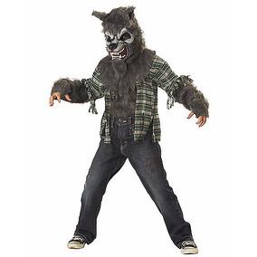Disfraz Niño Hombre Lobo Traje Miedo Halloween Mod3