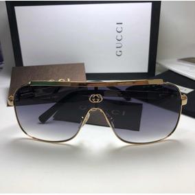 Óculos De Sol Gucci Máscara