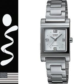 Reloj Casio Mujer Metálico Resistente Al Agua Nuevo Original