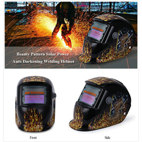 Máscara P/soldar Solar De Protección Personal C/diseño Mujer