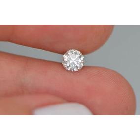 Lindo Diamante 70 Pts, Certificado Igl, Cor G, Si2, 5,74 Mm!