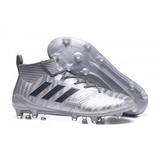 Tacos adidas Ace 17 Purecontrol Fg * Silver Envío Gratis
