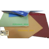 Persianas Enrollable Traslúcidas Naranja, Verde Terracota Ab