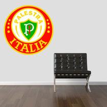 Adesivo Parede Escudo Time Brasão Palmeiras Palestra Itália