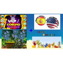 Coelho Sabido,13 Jogos + Idiomas + Jogos Para Pc