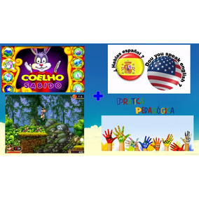 Coelho Sabido + Idiomas +pedagógico +jogos+livro