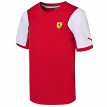 Playera Scuderia Ferrari Sf Tee Niño 02 Puma 761747