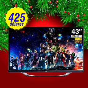 Smart Tv De 43 Y 55 Pulgadas Full Hd Marca Global Economicos
