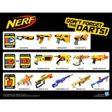 Nerf N Strike Maverick Dart Blaster Doble Sus Dardos X01