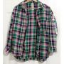 Camisa Blusa Leñadora A Cuadros Mujer Azucar Invierno
