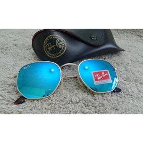 2724490b3e27b ... 3548 Azul Espelhado Feminino Envio 24h. 5. São Paulo · Oculos De Sol Rayban  Hexagonal Lente Azul   Frete Gratis