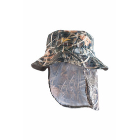 Gorro Libertad Pescador Con Nuquera Camu Junco 3 D