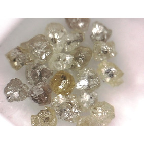 Lote De Diamantes Brutos Vazados 1ct L1