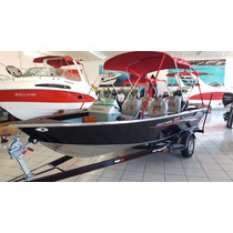 Barco Levefort Marajó Master Freestyle Motor Mercury 90hp 4t