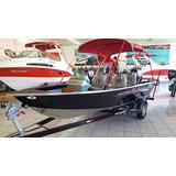 Barco Levefort Marajó Master Freestyle Motor Mercury 90hp 4t