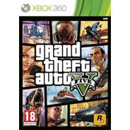 Jogo Midia Fisica Grand Theft Auto Gta 5 Português Xbox 360